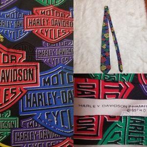 1997 Harley's Davidson neck tie.